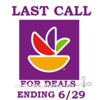 HURRY! LAST CALL for Stop & Shop deals ending 6/29! This is your last chance!