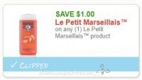 **NEW Printable Coupon** on any (1) Le Petit Marseillais™ product