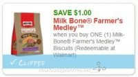 **NEW Printable Coupon** $1.00/1 Milk-Bone Farmer's Medley™ Biscuits