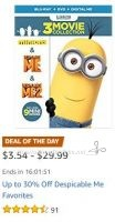 **Amazon Deal of the Day** Save on  Despicable Me Favorites!