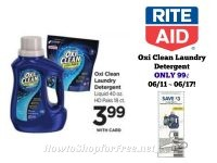 Oxi Clean Laundry Detergent ONLY 99¢ at Rite Aid 06/11 ~ 06/17!