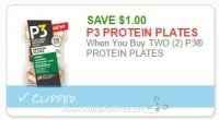 **NEW Printable Coupon** $1.00/2 P3 PROTEIN PLATES
