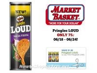 Pringles Loud ONLY 75¢ at Market Basket 06/18 ~ 06/24!