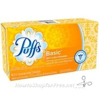 FREE Puffs Basic Facial Tissue from Dollar Tree!