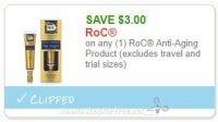 **NEW Printable Coupon** $3.00/1 RoC Anti-Aging Product