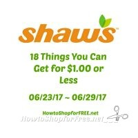 18 Things You Can Get for $1.00 or Less at Shaw's 06/23 ~ 06/29!