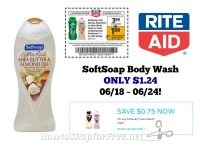 SoftSoap Body Wash ONLY $1.24 at Rite Aid 06/16 ~ 06/24!