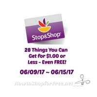 28 Items for $1.00 or Less at Stop & Shop 06/09 ~ 06/15!