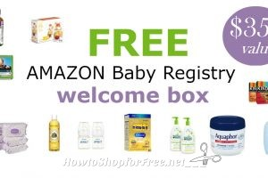 FREE Amazon Baby Registry Welcome Box ~Still Available