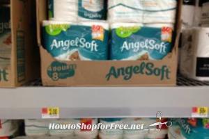 Angel Soft Toilet Paper $1.55 at Walmart