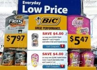 HOT BiC Razors Deals @ Walmart with NEW $4 Coupons!