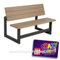 Convertible Bench/Table UNDER $90 after Crazy Deal GC!