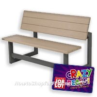 53% OFF Convertible Bench/Table after Crazy Deal GC!