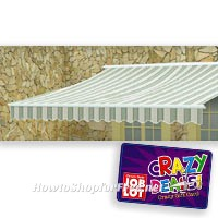 Get a GC wyb any Motorized Awning at Job Lot!