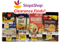 Clearance Finds at Stop & Shop!