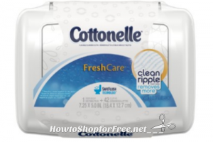 Walmart cottonelle flushable wipes