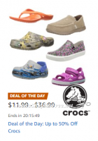 Deal of the Day~ Up to 50% Off Crocs