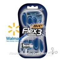 BiC Flex 3 Razors UNDER $3 at Walmart! (4pk)