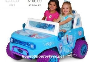 Frozen SUV 12V Ride-On as low as $100! Fun for Summer!