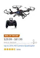 Up to 25% HD Camera Quadcopters ~Deal of the Day