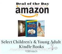 Today Only ~ Children's & YA Kindle Books, $1.99 each!