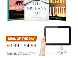 Up to 80% off select New York Times best sellers, Today Only!