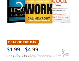 Up to 70% off Business & Investing Reads on Kindle ~Deal of the Day