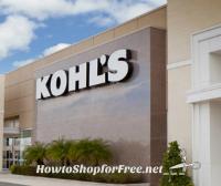 $45/$45 Kohl's Offer! Shop for FREE!