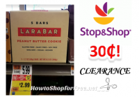 Larabar only $1.49 at Stop & Shop!