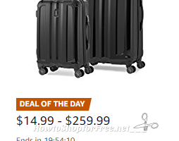 Up to 40% Off Luggage & Travel Gear ~Today Only