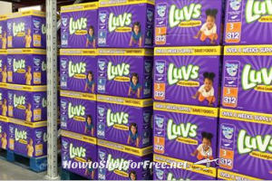 Luvs as low as .08 per diaper from Sam's Club ~TODAY ONLY! (6/15)