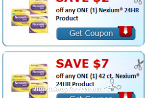 $9 in NEW Nexium® 24HR Savings!