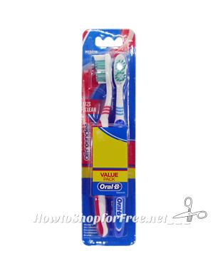 50¢ Oral-B Toothbrush 2pks ~Coupon Coming 7/2