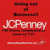 JCPenney  Closing 140 Stores!!