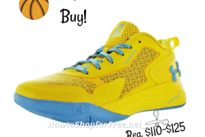 $65 Under Armour Basketball Shoes ~Limited Time Only!