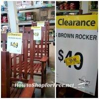 $35 Rocker at Walmart! (Was $68)