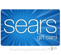 $100 Sears Gift Card for only $85!! (Email Delivery)