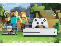 Xbox One S 500GB Minecraft Bundle for $200!