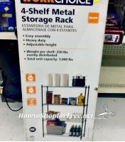 4 Tier Wire Shelving Unit as low as $10!! (Was $48)