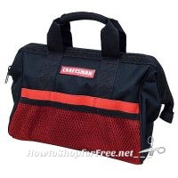 Craftsman 13 in. Tool Bag only $3.49!!