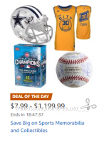 Save Big on Sports Memorabilia & Collectibles, Today Only!