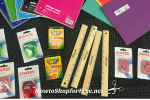Staples: Back to School Deals ONLY 50¢ Each (Crayons, Notebooks & More!)