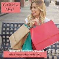 Get Paid to Shop!