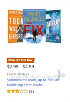 Up to 75% off Summertime Reads for Your Kindle!