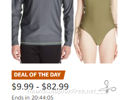 Up to 60% Off Swimsuits & Rash Guards ~Deal of the Day