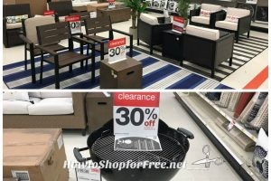 Extra 10% off Clearance Patio, Decor & Grilling Items @ Target!!