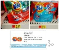 Snag a Bag of Tide PODS at Walmart for 97¢