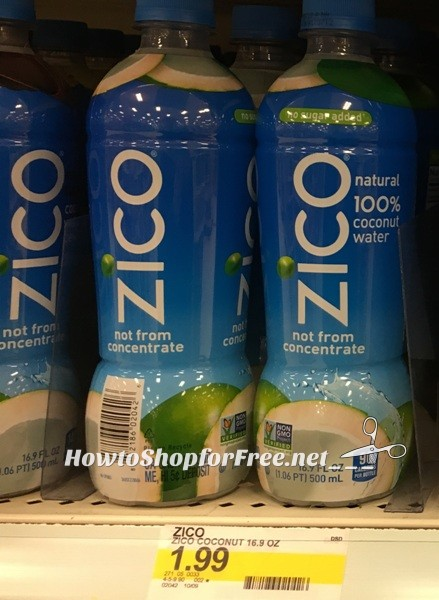 FREE Zico Coconut Water at Target | How to Shop For Free ...