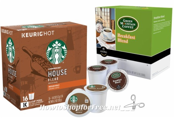 Today Only, 16ct. Top Brand K-Cups for $7.99!!
