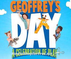 "Free Geoffrey's Day Event at Toys""R""Us on Saturday!"